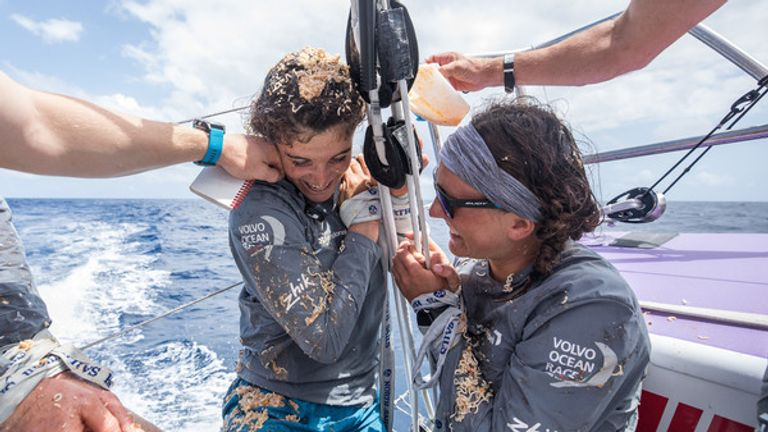 Initiating sailors who cross the equator for the first time is a seafaring tradition