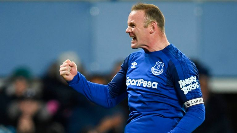 Rooney netted his first hat-trick in five years