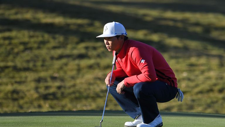 Whee Kim holds early advantage at Shriners Hospital for Children Open