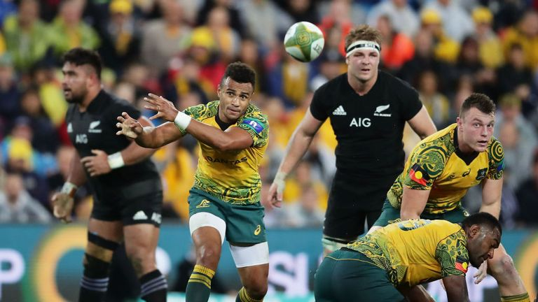 Australia beat New Zealand 23-18 in their last meeting