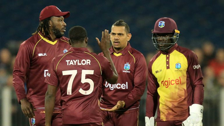 West Indies to tour Pakistan for three T20s in 2018