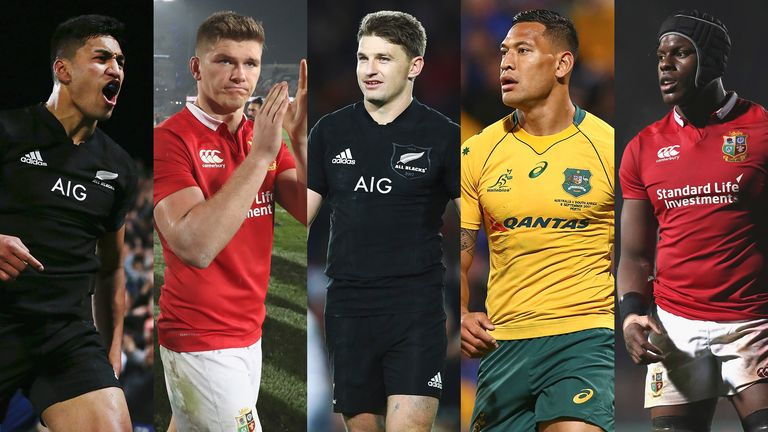 World Rugby publishes Player of the Year shortlists