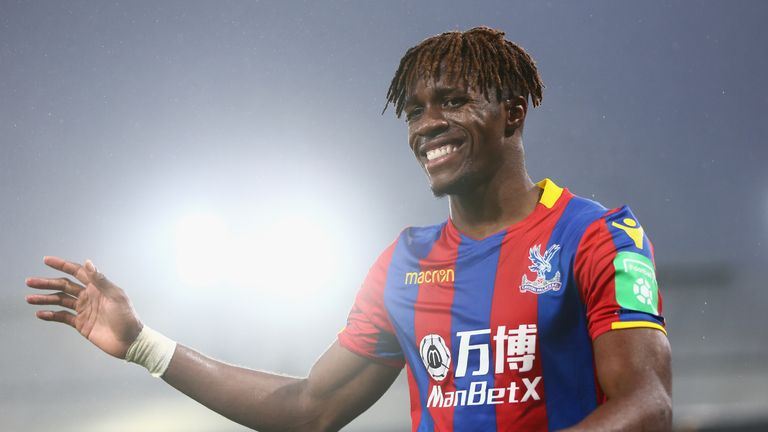 Wilfried Zaha is not thought to be one of City's main targets