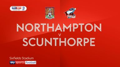 Northampton 0-3 Scunthorpe