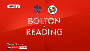 Bolton 2-2 Reading