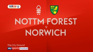 Nottingham Forest 1-0 Norwich
