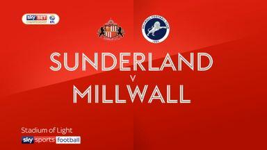 Sunderland 2-2 Millwall