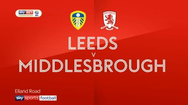 Leeds 2-1 Middlesbrough