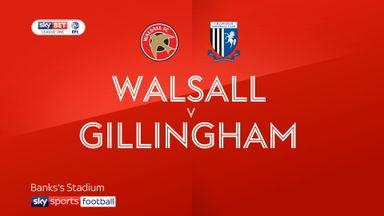 Walsall 0-1 Gillingham