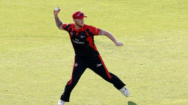 Ben Stokes has been training at Durham