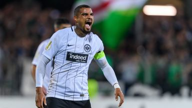 Kelvin-Prince is a great name, says Frankfurt's Boateng!
