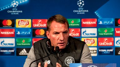 Brendan Rodgers' side are looking to claim a Europa League spot by finishing third in the group