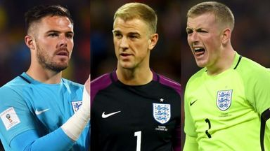 fifa live scores - England goalkeeper shirt is still up for grabs, says Robert Green
