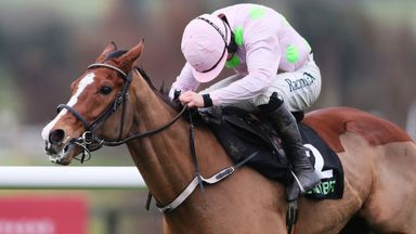 Faugheen ridden by Paul Townend races clear of the last on the way to winning the Unibet Morgiana Hurdle