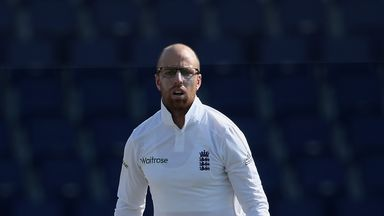 Jack Leach is now aiming to win his first England Test cap