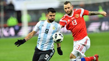 Sergio Aguero scored the winner for Argentina