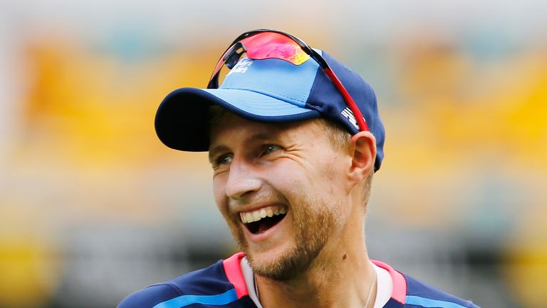 England captain Joe Root during a nets session at The Gabba
