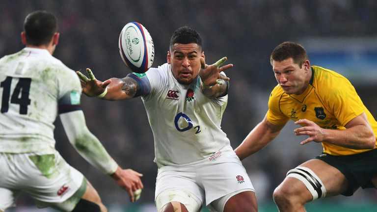 Nathan Hughes featured in the first two autumn internationals