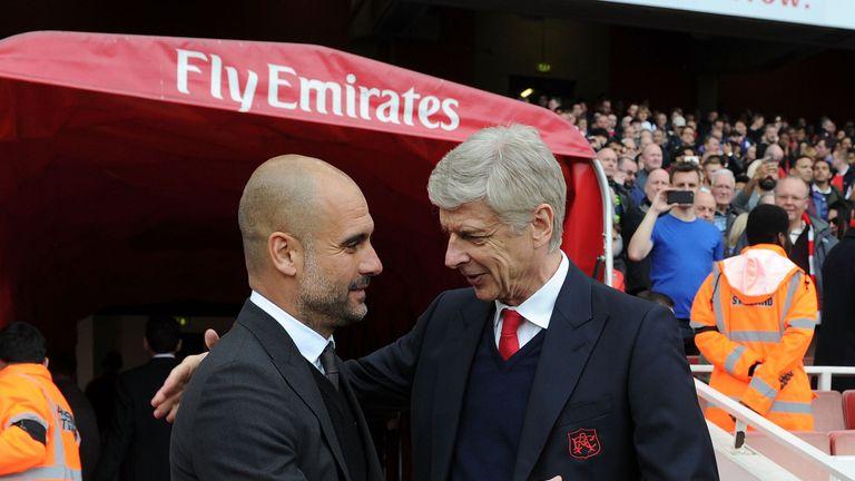 Pep Guardiola and Arsene Wenger go head to head on Super Sunday