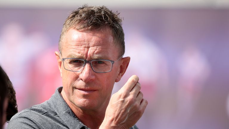 Ralf Rangnick was interviewed for the Everton job in 2013