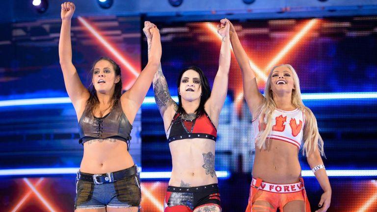 The NXT trio of Sarah Logan, Ruby Riot and Liv Morgan ran roughshod over the SmackDown women