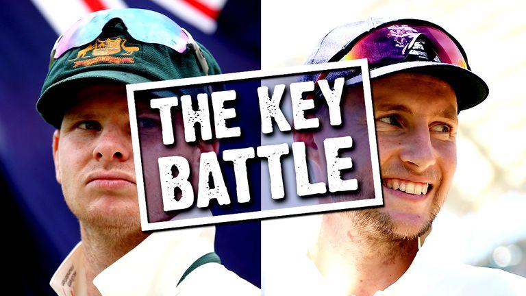 The Key Battle - Steven Smith v Joe Root