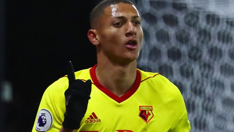Richarlison joined Watford last summer from Brazilian side Fluminense