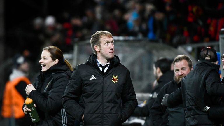 Ostersunds coach Graham Potter has masterminded the club's unlikely rise