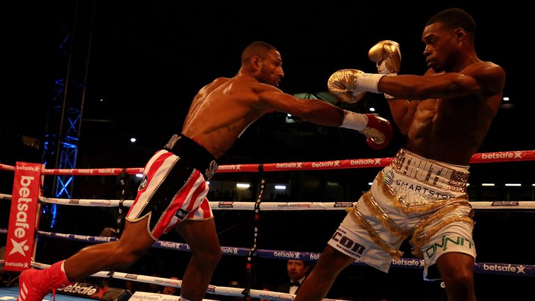 Spence Jr beat Brook for his world welterweight title