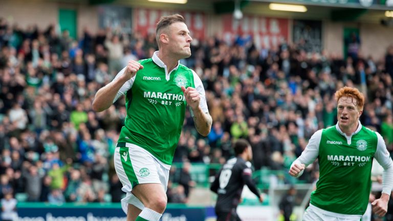 Hibernian's Anthony Stokes is focusing on his form ahead of the visit of Celtic