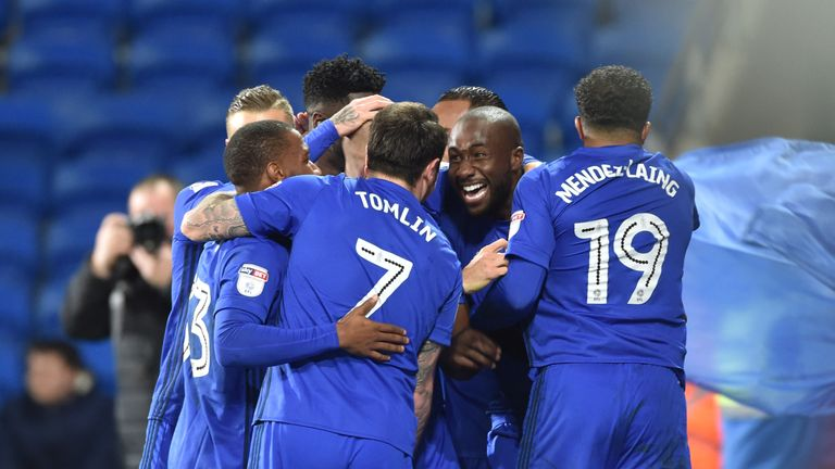 Cardiff lost four games in a row during the festive period