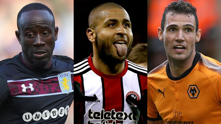 Albert Adomah, Leon Clarke and Leo Bonatini make the Team of the Month