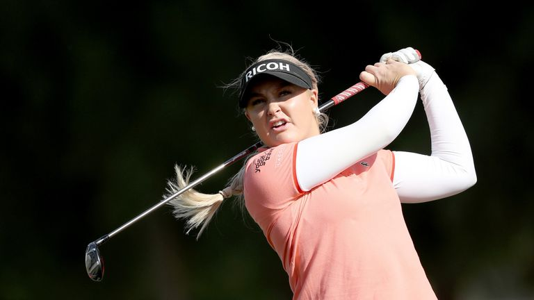 You will be able to follow Charley Hull's progress on Sky Sports Golf this year