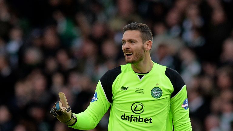 Craig Gordon is recovering from a knee injury