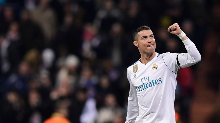Cristiano Ronaldo hit another milestone