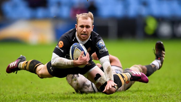 Dan Robson once again stood out for Wasps in victory