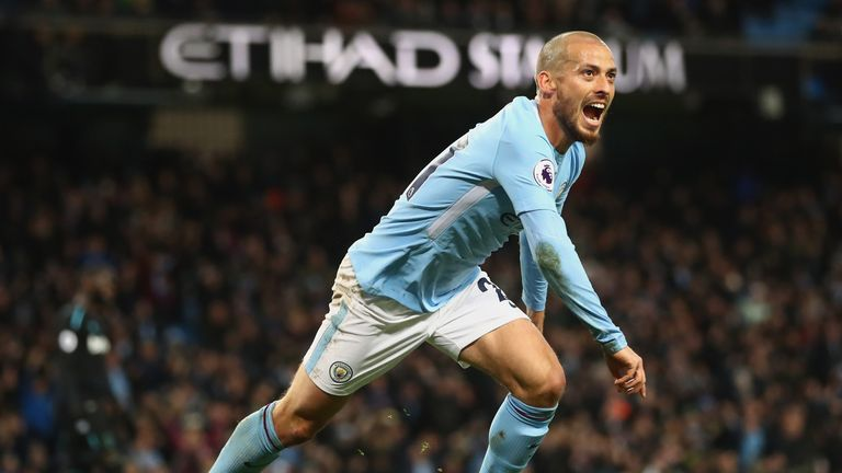 Silva 'felt uncomfortable' after scoring City's match-winning goal against West Ham on Sunday