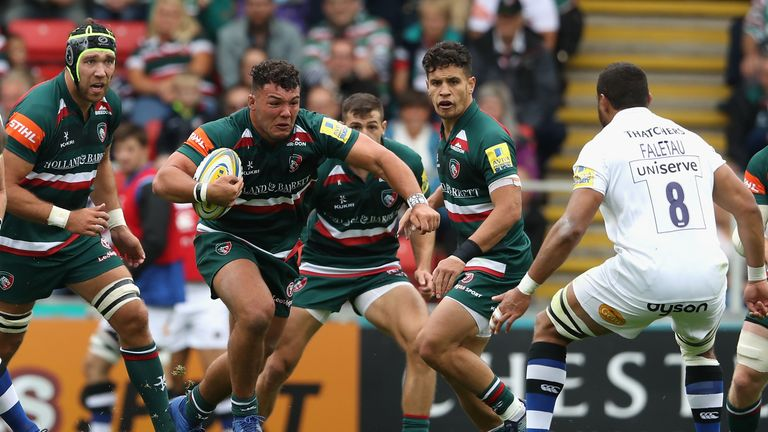 Leicester Tigers forward Ellis Genge will be sidelined fortwo months after shoulder surgery