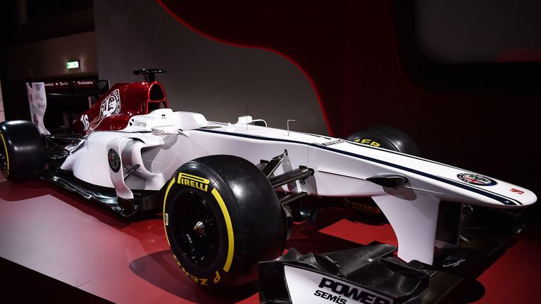 sauber reveal alfa romeo concept livery f1 news. Black Bedroom Furniture Sets. Home Design Ideas