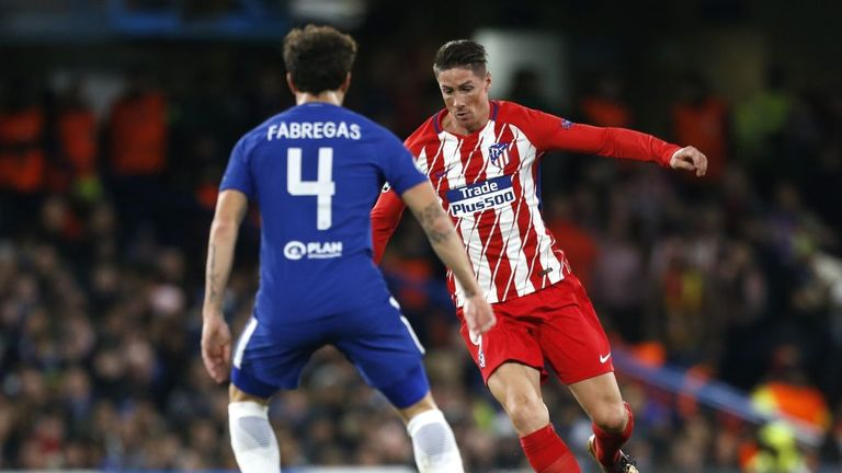 Fernando Torres returned to his old club Chelsea on Tuesday night