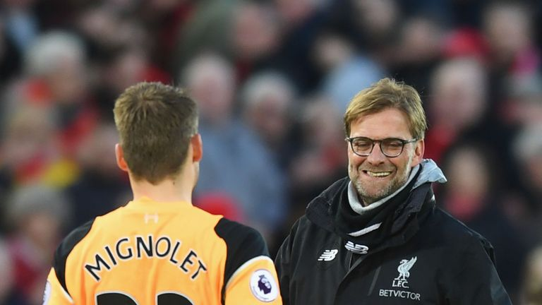 Jurgen Klopp admits he does not know what the future holds for the Belgian