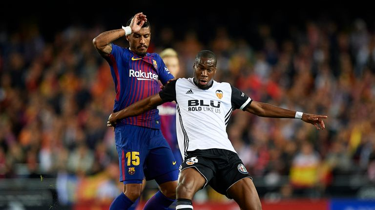 Geoffrey Kondogbia has been having an excellent season on loan at Valencia