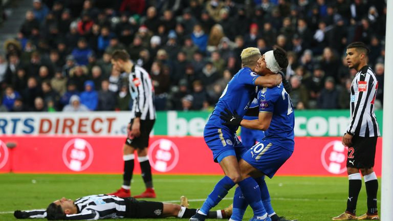 Newcastle are 16th in the Premier League after defeat to Leicester last time out