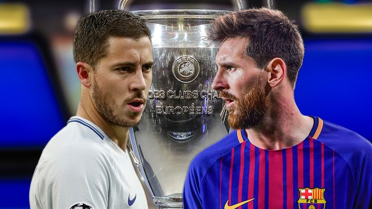 Eden Hazard is not at Lionel Messi's level, says Carles Puyol