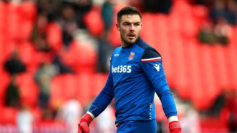 Jack Butland earlier this month denied he has asked to leave Stoke