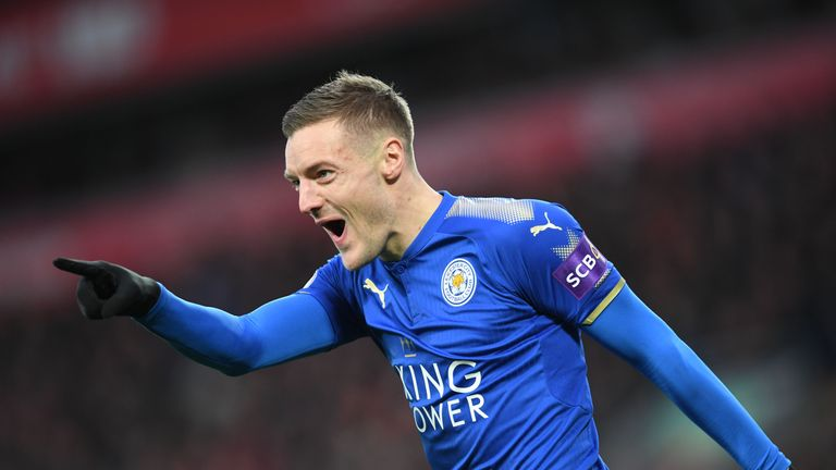 Jamie Vardy has won the most Premier League penalties in the past five seasons
