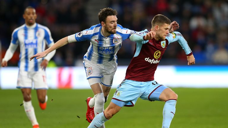 Gudmundsson was Burnley's most creative player against Huddersfield