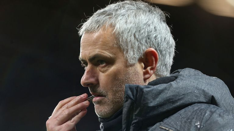 Jose Mourinho's Manchester United have fallen behind Manchester City