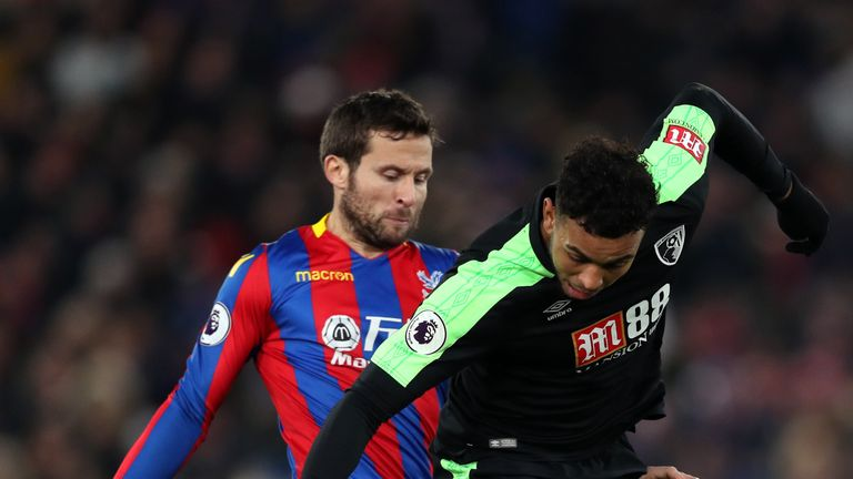Josh King moves away from Yohan Cabaye on Saturday