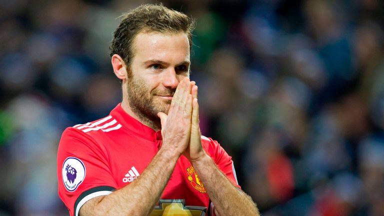 Could Juan Mata be heading for the Man Utd exit door this summer?